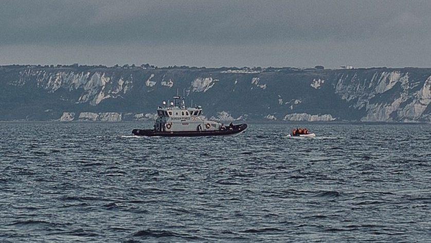 Einsatz der Border Force bei Dover