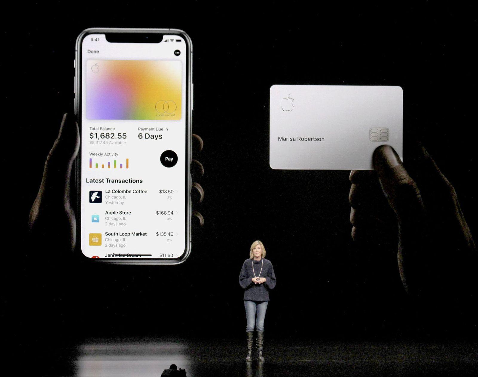 EINMALIGE VERWENDUNG Apple Card