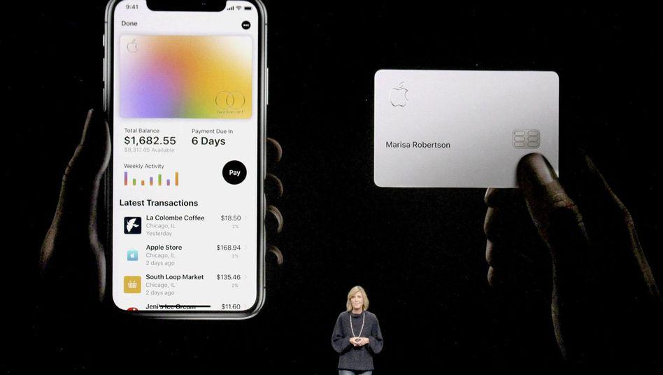Die Apple Card wurde im März 2019 vorgestellt.