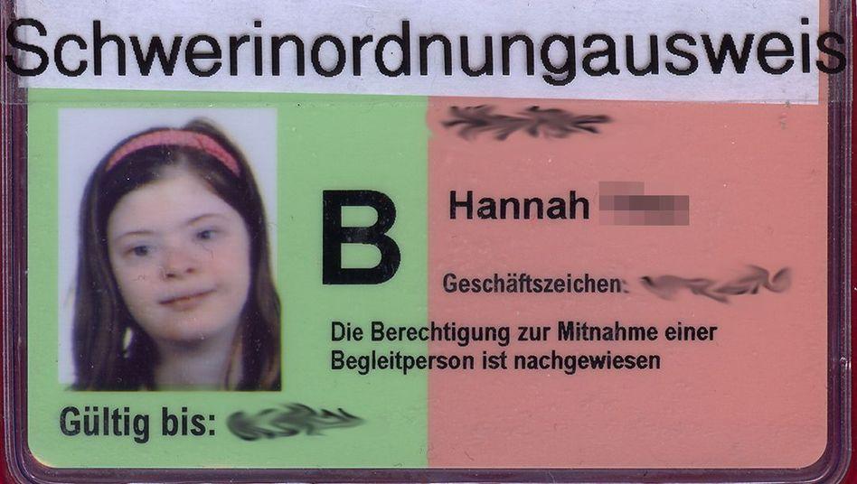 Schwerinordnungausweis