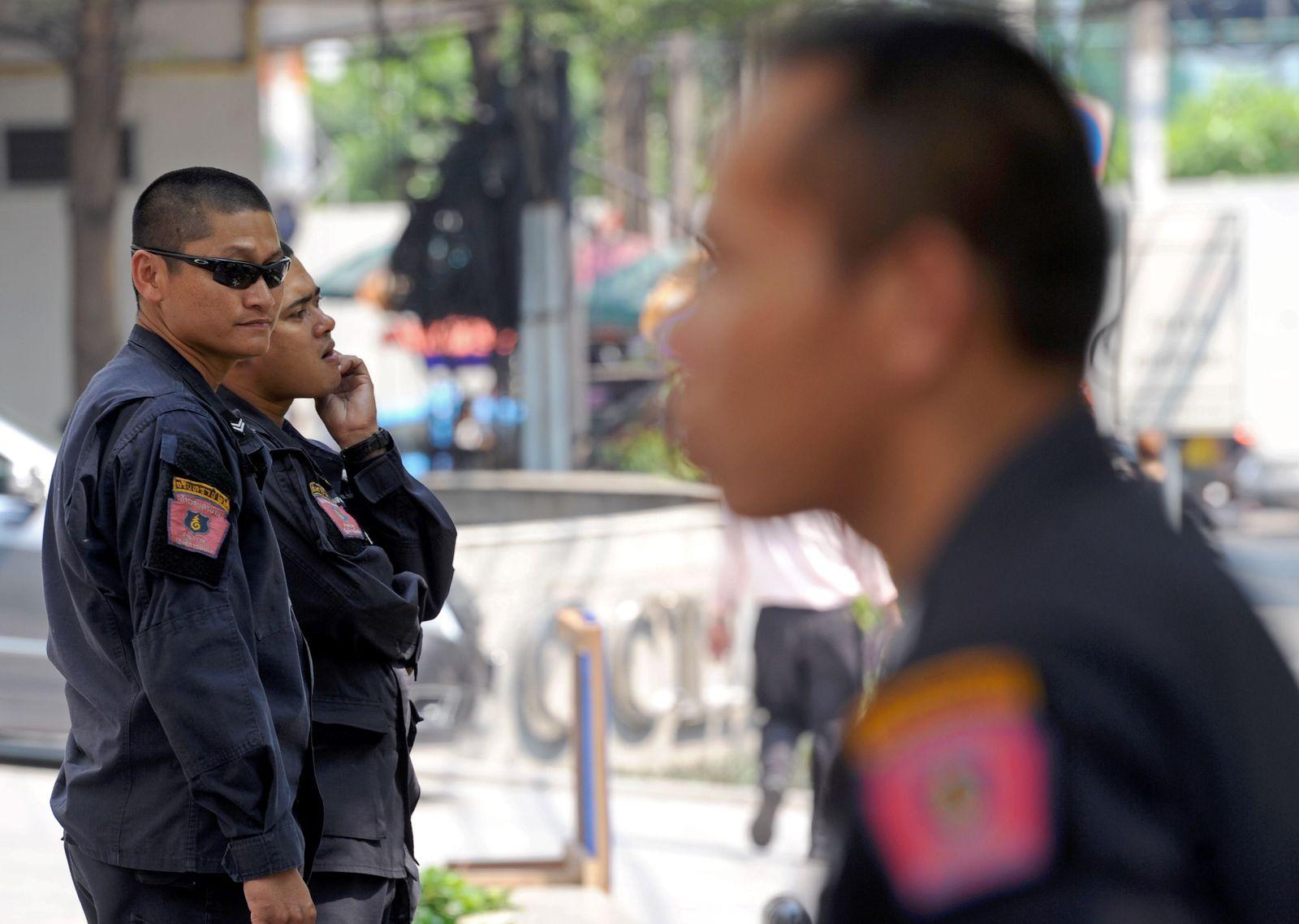 Thailand / Sicherheitskräfte