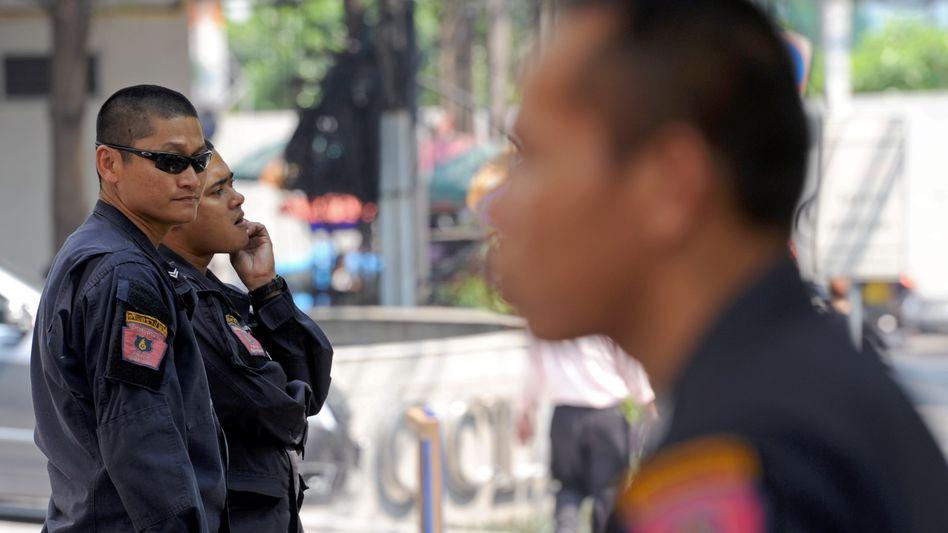 """Thailändische Sicherheitskräfte in Bangkok: """"Bisher keine wirklich guten Geheimdienste"""""""