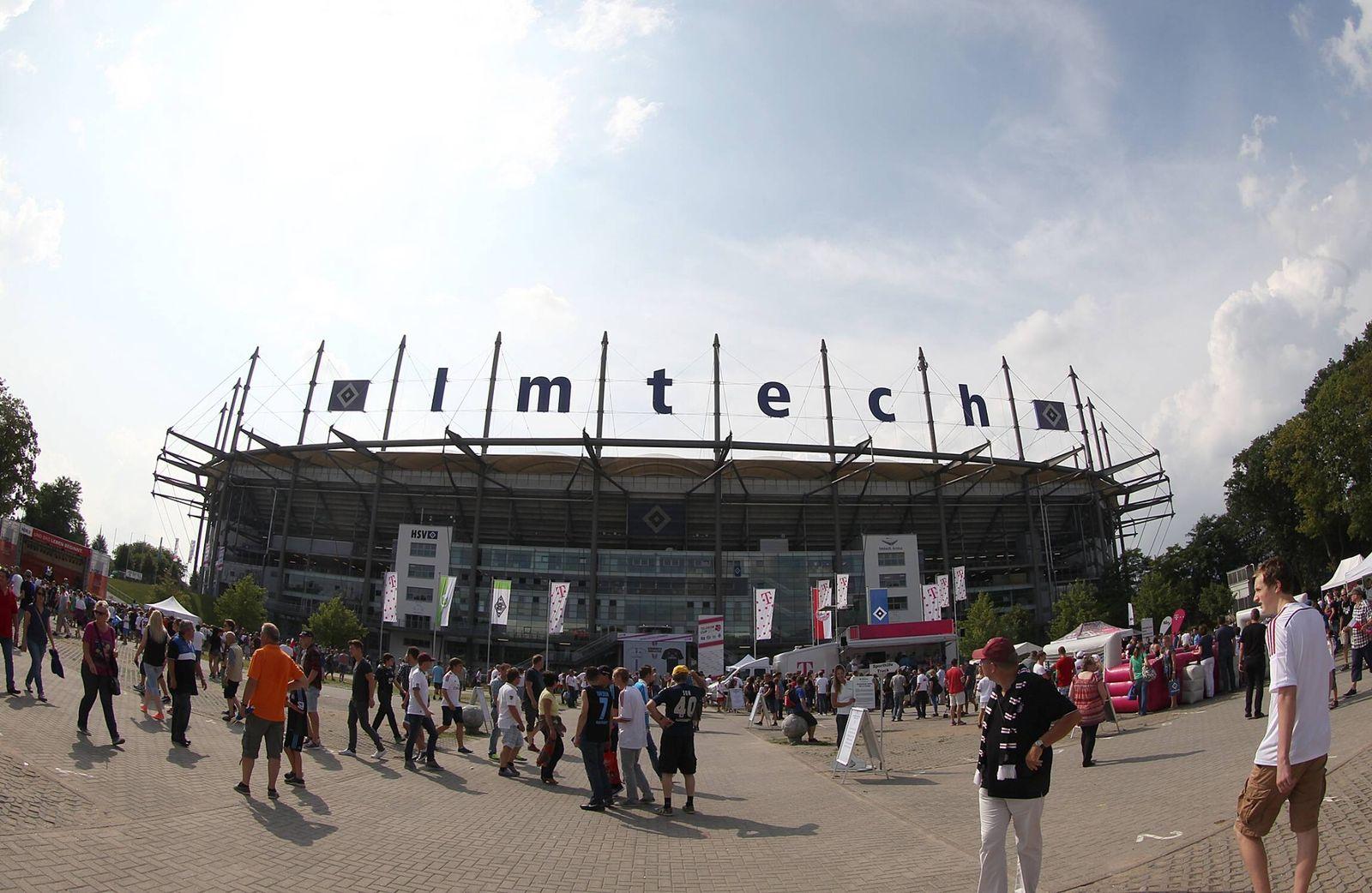 EINMALIGE VERWENDUNG Imtech Arena/ HSV