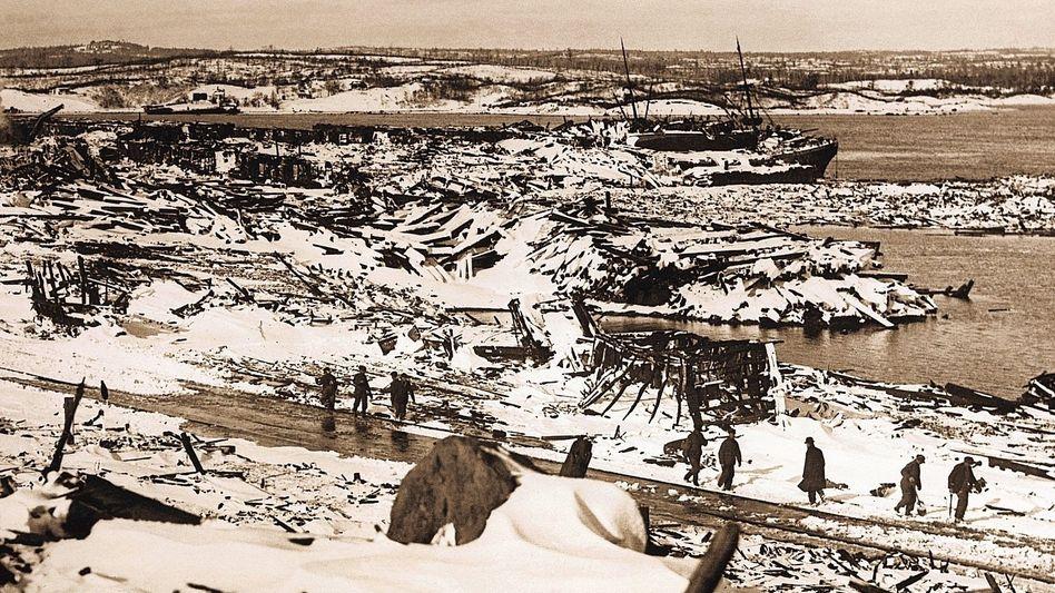 Halifax 1917 Ein Munitionsfrachter explodiert, viele Menschen wachsen über sich selbst hinaus.