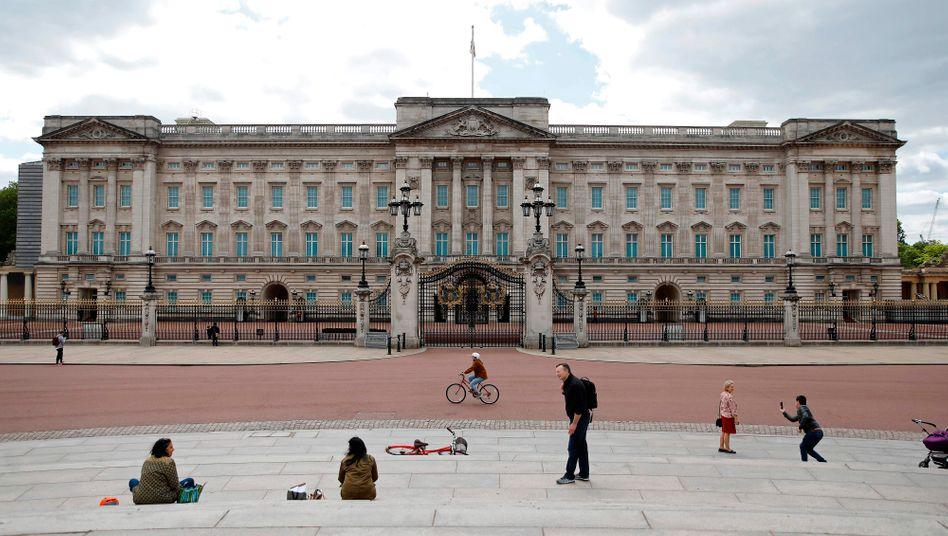 Der Buckingham Palace in London