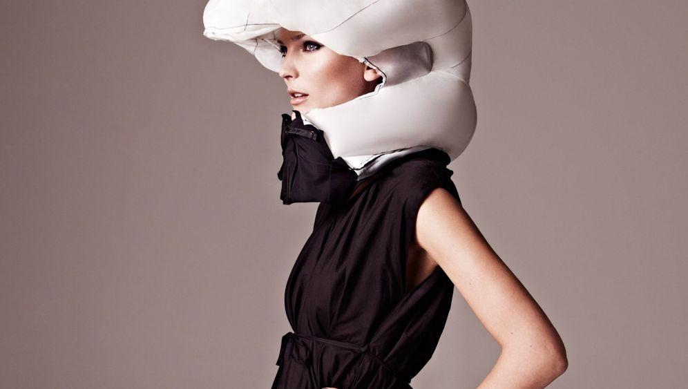 Unsichtbarer Fahrrad-Helm: Schick und sicher