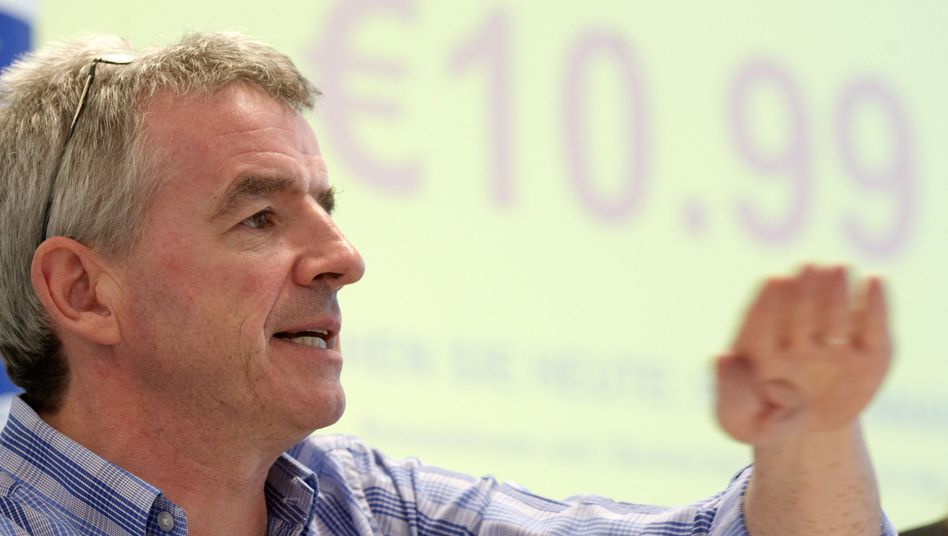 """Ryanair-Chef Michael O'Leary: """"Rachefeldzug"""" der EU gegen Billigflieger"""