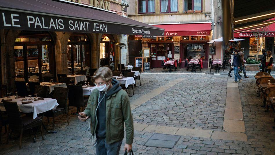 Restaurants in Lyon: Strenge Hygieneauflagen