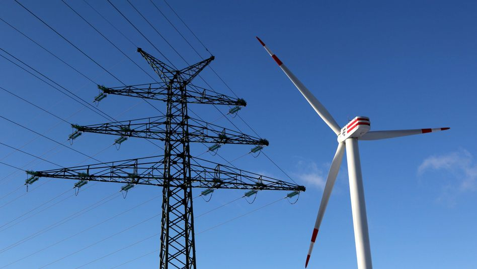 Windkraftanlage in Schleswig-Holstein