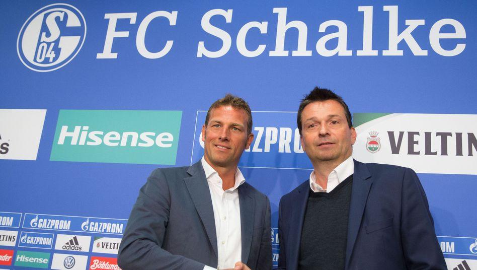 Markus Weinzierl (l.) und Christian Heidel