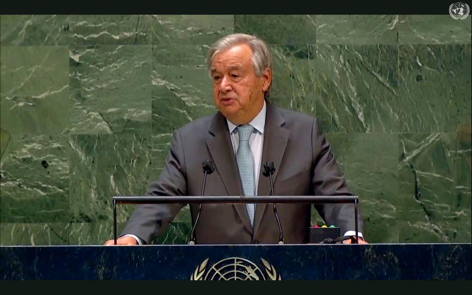UN-Generaldebatte - Guterres