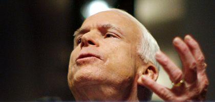 Nichts als die Wahrheit verspricht John McCain seinen Wählern