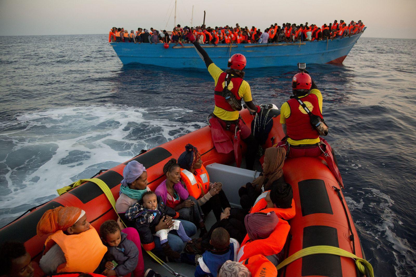 Italien/ Libyen/ Flüchtlinge