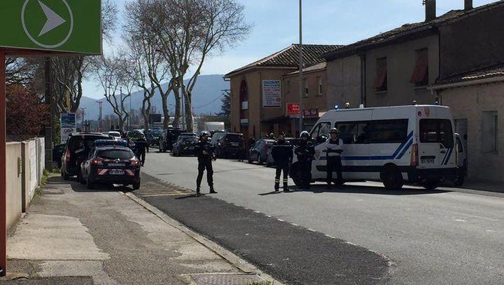 Geiselnahme in Südfrankreich: Schüsse im Supermarkt