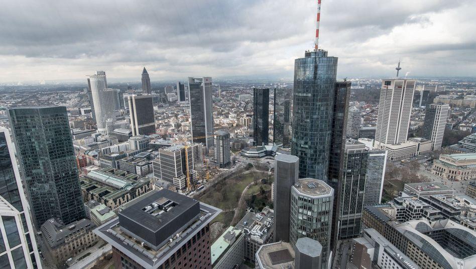 Bankentürme in Frankfurt: Kann die Wirtschaft noch höher hinauswachsen?