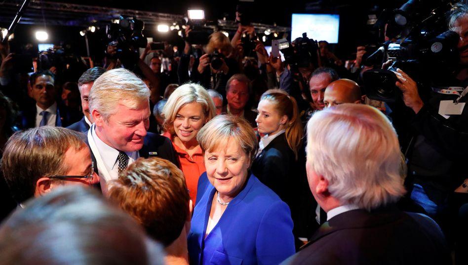 Angela Merkel (nach dem TV-Duell)