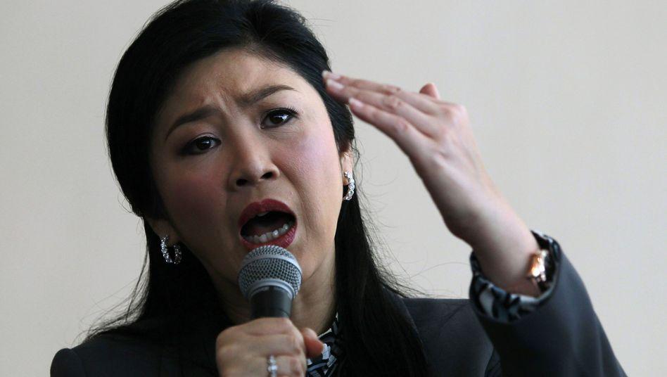 Thailands Premier Yingluck: Aufenthaltsort unbekannt