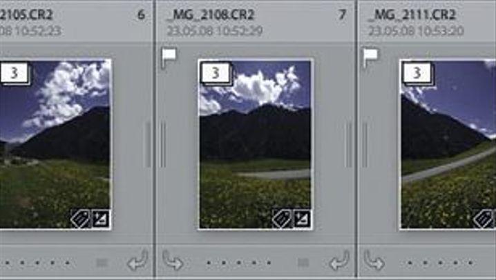 Panoramatechnik: Erst Fusing, dann Stitching
