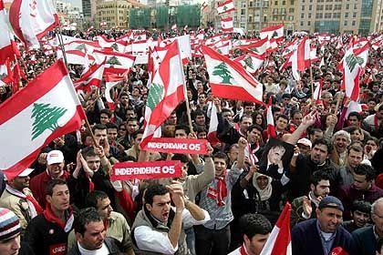 Beirut: Antisyrische Proteste trotz Demonstrationsverbots