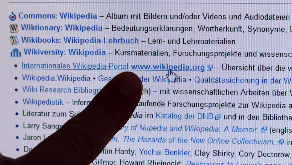 Weblinks zu einem Wikipedia-Artikel