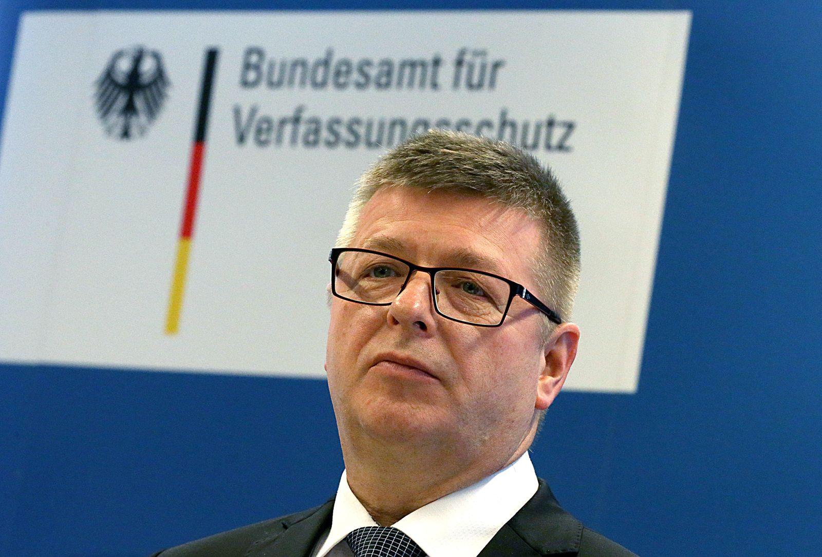 Verfassungsschutzpräsident: Keine Entwarnung beim IS
