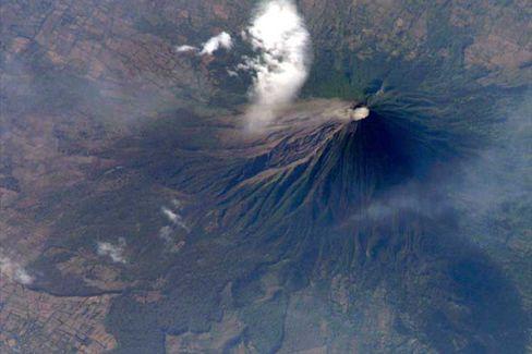 Vulkan Concepción: Empfängnis, Fruchtbarkeit, Gerölllawinen