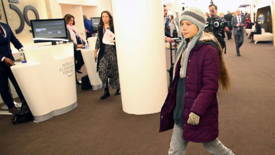 Rededuell in Davos: Greta Thunberg gegen Donald Trump