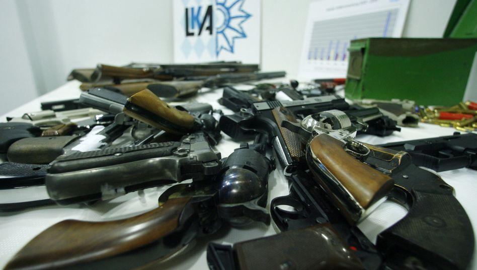 Abgegebene Waffen in Nürnberg: Vor der Schützenlobby eingeknickt