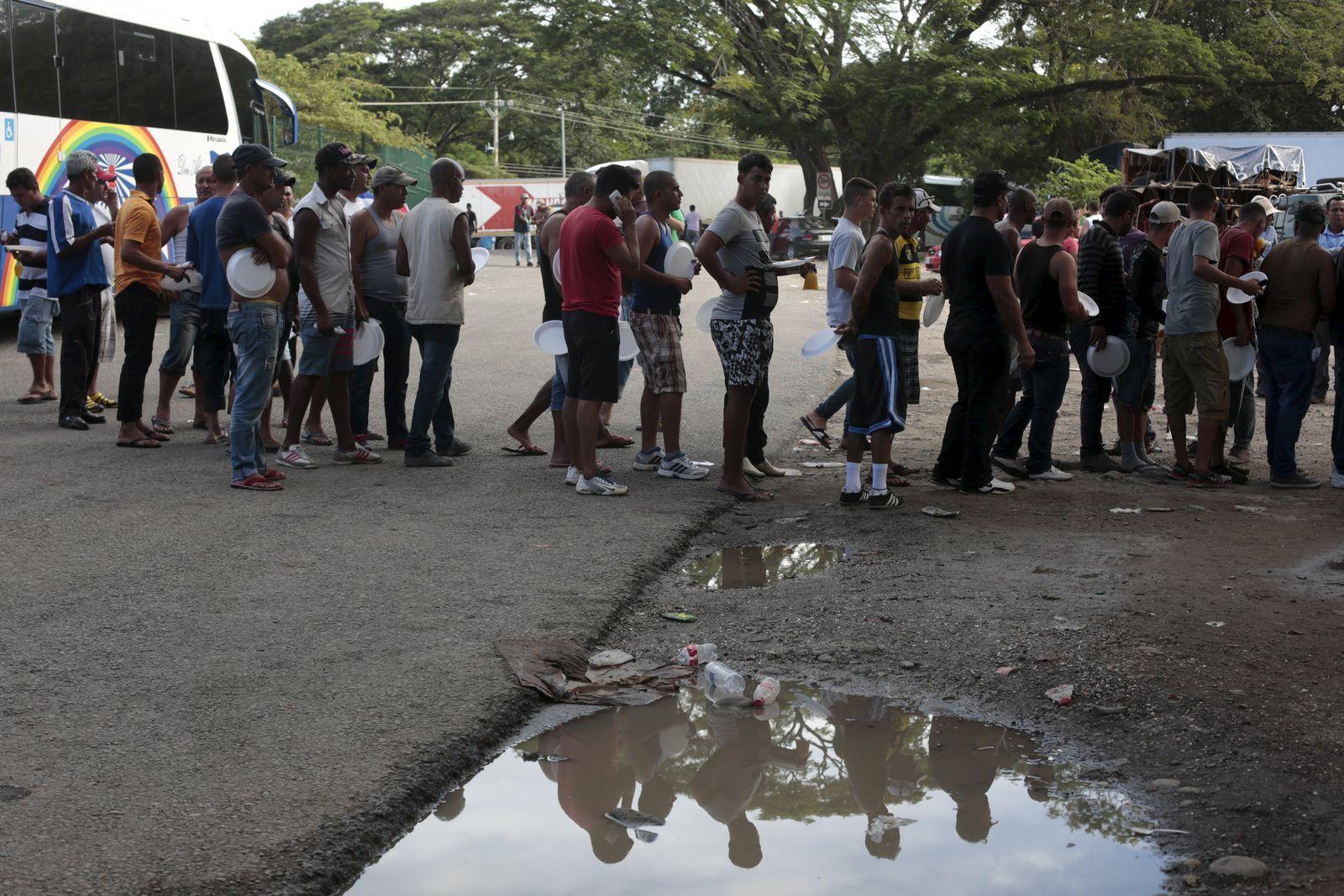 Kuba/ Flüchtlinge/ Costa Rica