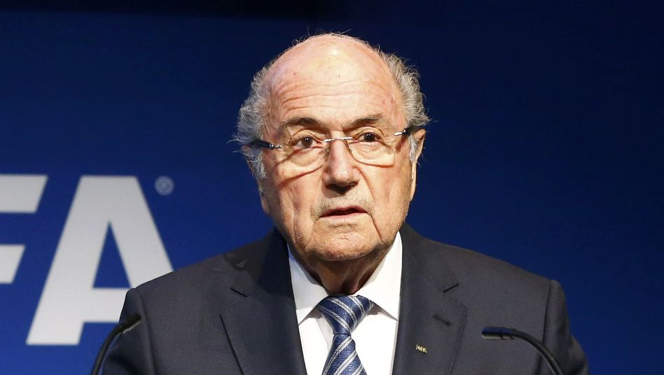 Fifa-Präsident Joseph Blatter: Ist er nicht klein zu kriegen?