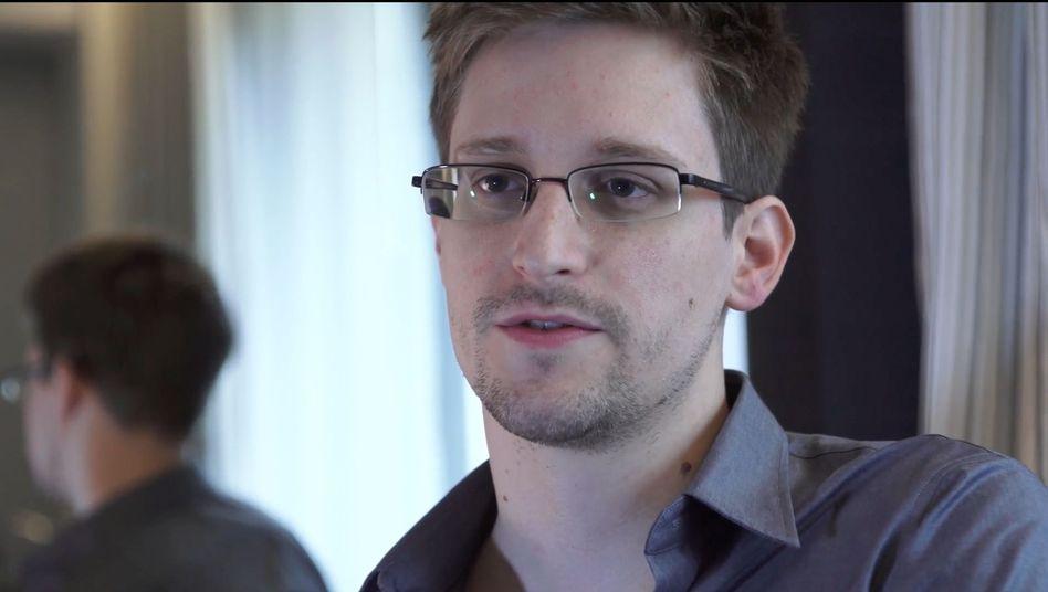 Whistleblower Snowden (Archivbild): Erklärung im EU-Parlament verlesen