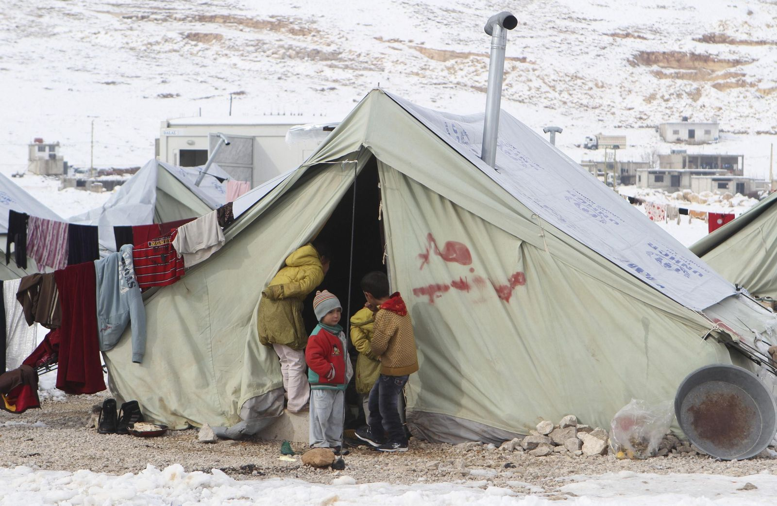 Sytien/Flüchtlinge