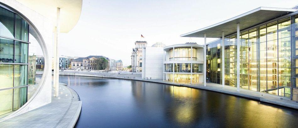 Bürogebäude des Bundestags in Berlin