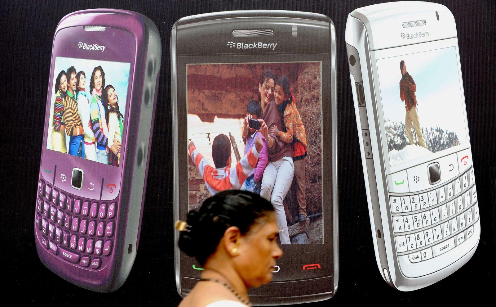 Blackberry Indien