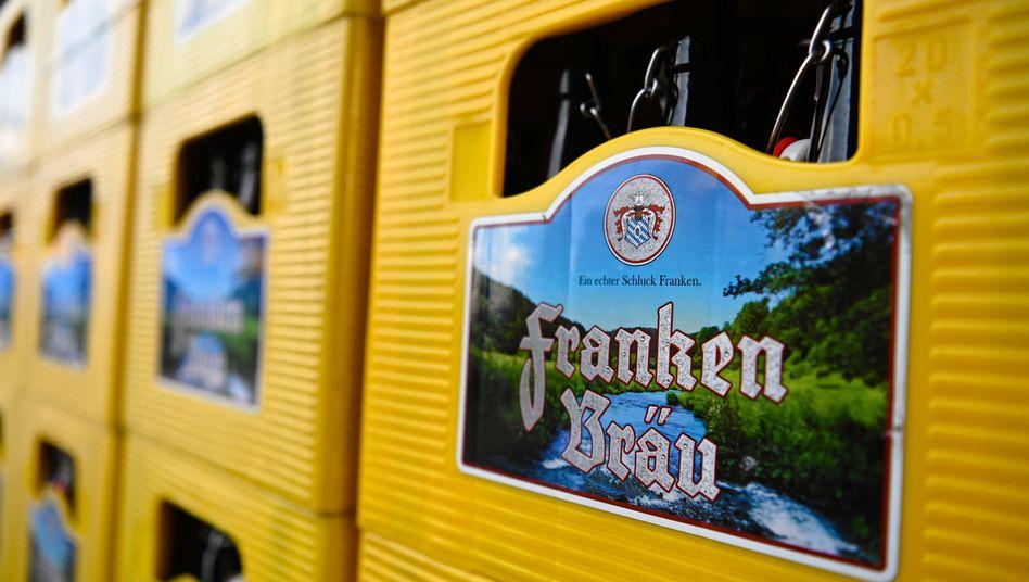 Verbraucherschützer warnen weiter vor verunreinigtem Bier der Marke Franken Bräu