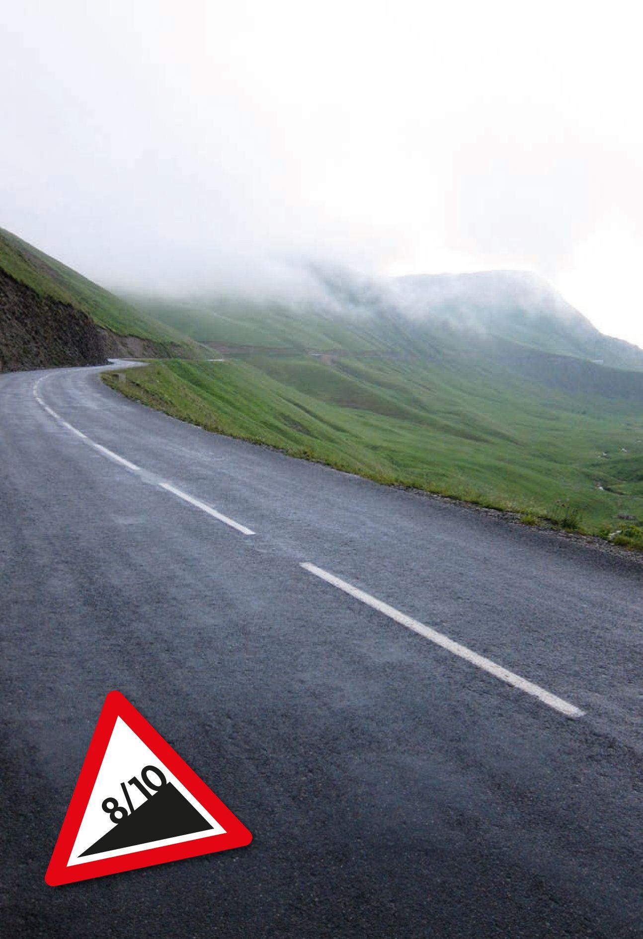 EINMALIGE VERWENDUNG Tour-Anstiege/ Col de la Croix de Fer