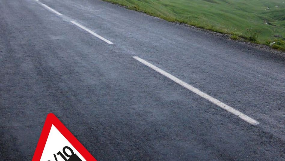 """Die Straße zum Col de la Croix de Fer: """"Aufreibend, hierher zu kommen"""""""