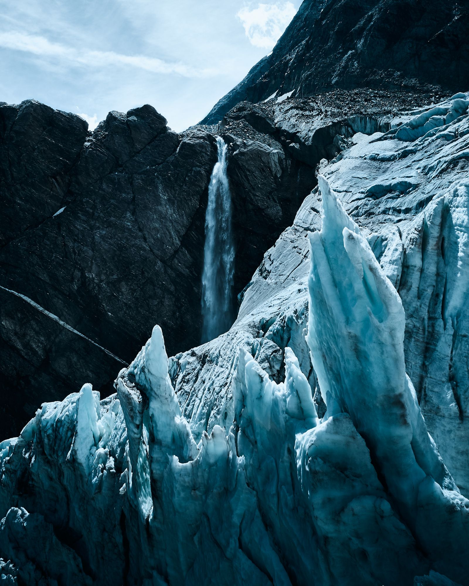 Fleeting Glaciers