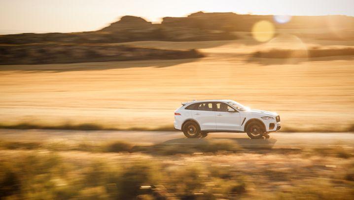 Jaguar F-Pace SVR: Einmal noch wie früher