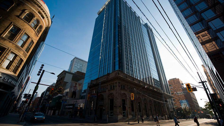 Kreuzung an der Queen Street: Toronto folgte dem US-amerikanischen Modell