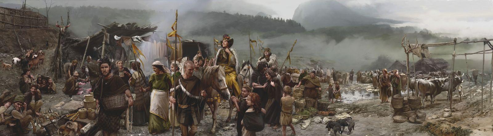 EINMALIGE VERWENDUNG Ungleichheit in der Bronzezeit