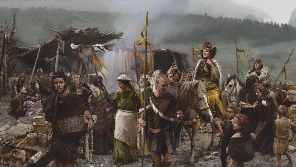 Soziale Strukturen in der Bronzezeit: Frauen aus der Ferne hatten einen hohen Status