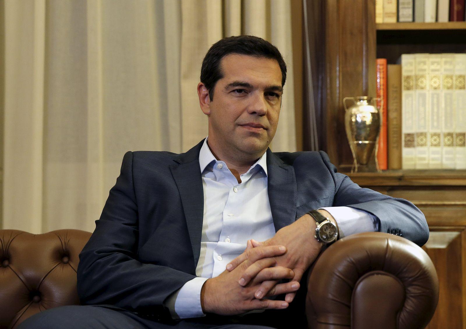 Tsipras vor Rücktritt