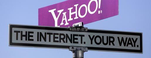 Yahoo-Logo in Las Vegas: Microsoft spart Milliarden - doch die Vision von der Web-Herrschaft ist gescheitert