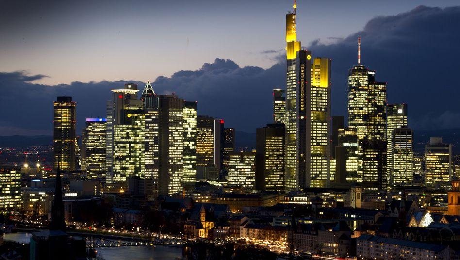 Finanzplatz Frankfurt am Main: Die Banken sind weniger spendierfreudig als früher