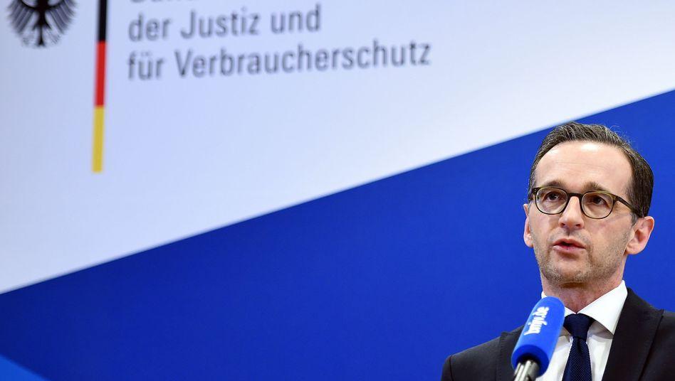 Justizminister Maas (SPD): Deutliche Kritik an CSU-Vorstoß