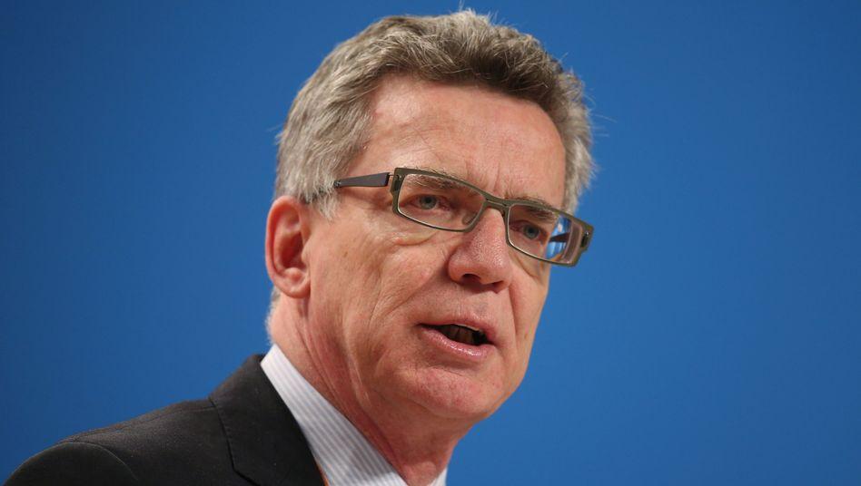 """Thomas de Maizière: """"Effektive Ermittlungen zur Strafverfolgung müssen auch im Cyberraum möglich sein"""""""