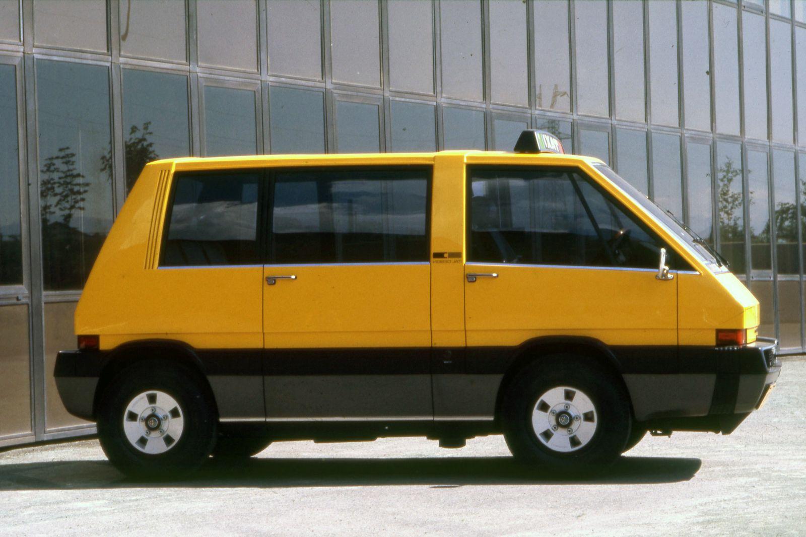 Schönes Ding / Alfa Romeo New York Taxi (von Giugiaro), 1976