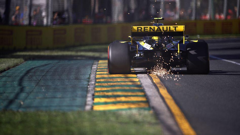 Der Renault von Nico Hülkenberg beim Grand Prix in Melbourne, Australien