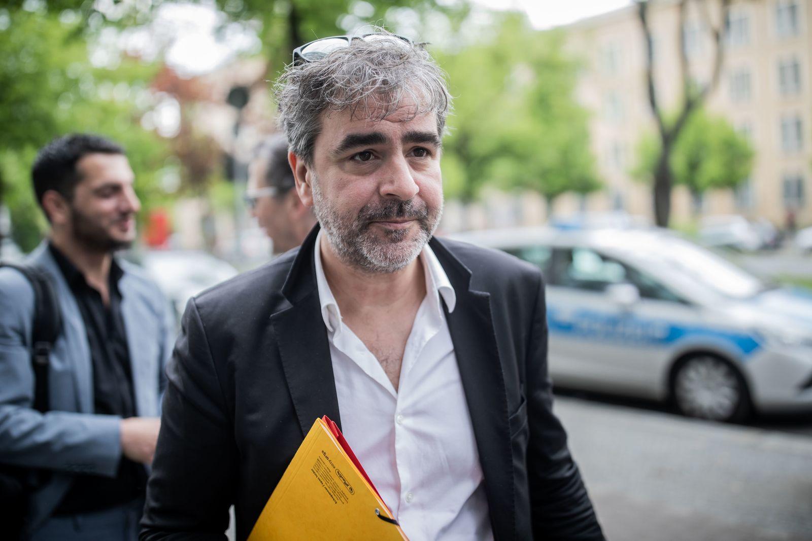 Journalist Yücel zur Vernehmung vor Amtsgericht